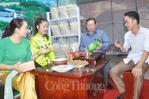Thái Nguyên sẽ sớm triển khai Chương trình 'Mỗi xã, phường một sản phẩm'