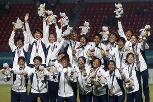 Bóng đá nữ Asiad 2018: Nhật Bản xuất sắc vượt qua Trung Quốc giành huy chương vàng chung cuộc