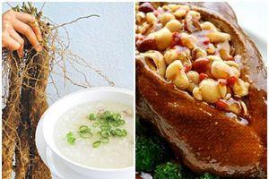 8 món ăn và vị thuốc chữa bệnh mùa thu