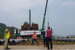 Doosan đóng cọc đầu tiên cho dự án Nhà máy Nhiệt điện Nghi Sơn 2