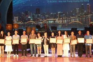 Bế mạc Liên hoan Ca Múa Nhạc toàn quốc 2018