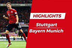 Highlights Stuttgart 0-3 Bayern: Tam tấu tỏa sáng