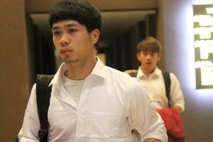 Olympic Việt Nam rời khách sạn sáng sớm ra sân bay về nước