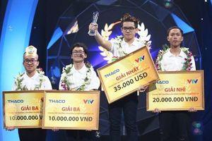 Nguyễn Hoàng Cường xuất sắc giành ngôi quán quân Đường lên đỉnh Olympia 2018