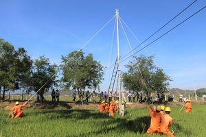 PC Khánh Hòa: Hơn 100 công nhân, kỹ sư tham gia diễn tập phòng chống thiên tại