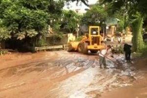 Thanh Hóa khẩn trương khắc phục hậu quả mưa lũ
