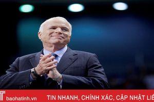 Thế giới nổi bật trong tuần: Thượng nghị sỹ Mỹ John McCain qua đời ở tuổi 81