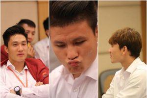 Xiêu lòng trước những biểu cảm 'đốn tim' CĐV của dàn cầu thủ Olympic Việt Nam