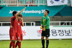 Những hình ảnh gây xúc động của đội tuyển Olympic Việt Nam trong trận tranh huy chương đồng ASIAD 2018
