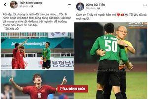 Cầu thủ Olympic Việt Nam xin lỗi người hâm mộ vì không thể mang huy chương đồng về nước