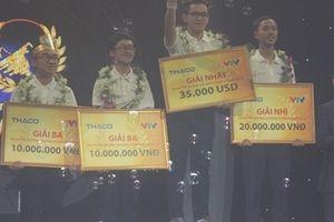 Học sinh Quảng Ninh giành ngôi quán quân 'Đường lên đỉnh Olympia' năm 2018