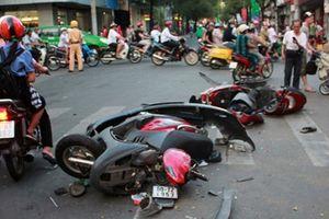 55 người thương vong vì tai nạn giao thông trong 2 ngày nghỉ lễ