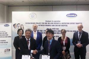 Vinamilk và Bệnh Viện Chợ Rẫy nâng tầm quốc tế về hợp tác chiến lược dinh dưỡng