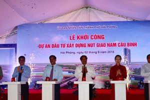 Hải Phòng: Khởi công xây dựng nút giao thông Nam cầu Bính