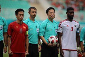 CĐV Hàn Quốc giận dữ, đòi xử trọng tài bắt trận Việt Nam-UAE