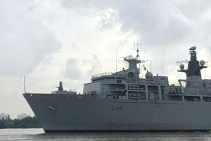 Tàu chiến Anh ghé cảng Sài Gòn, tái khẳng định cam kết với châu Á