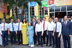 TP Hồ Chí Minh tổ chức Lễ đặt tên đường Dương Quang Trung