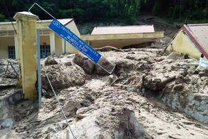 Những hình ảnh kinh hoàng sau trận lũ ở hai huyện Quan Hóa, Mường Lát