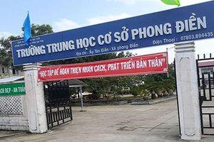 Phó Hiệu trưởng Trường Phong Điền bất ngờ xin xuống làm giáo viên
