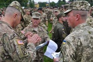 Ukraine tập trận chung với NATO trong khi vẫn căng thẳng với Nga