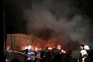 Quảng Nam: Xưởng gỗ bị thiêu rụi trong đêm