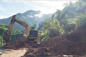 Thông tuyến Quốc lộ 37 ở Sơn La vẫn còn nhiều gian nan, nguy hiểm