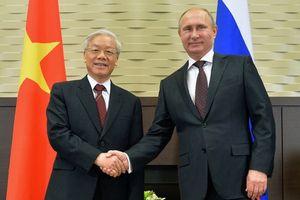 Tổng bí thư Nguyễn Phú Trọng sẽ hội đàm với Tổng thống Putin ở Sochi