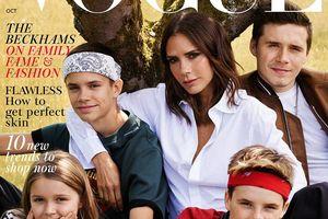 Gia đình Beckham hạnh phúc trên bìa tạp chí Vogue sau tin đồn rạn nứt