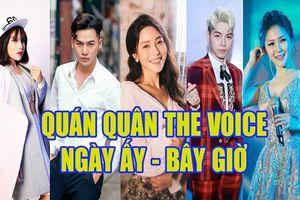 Những Quán quân The Voice Việt Nam đã thay đổi ra sao sau khi đăng quang