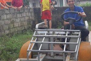 Clip: Ngắm chiếc xe 'ô tô mui trần' do 1 nông dân Nam Định chế tạo
