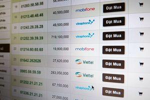 Sát giờ chuyển đổi, thị trường SIM 11 số đẹp tăng giá vùn vụt