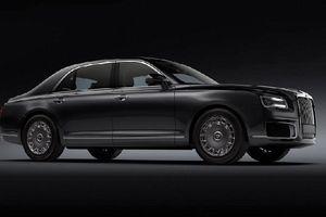 Aurus Senat,phiên bản bình dân của xe đặc chủng dành cho Tổng thống Nga