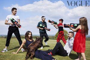 Gia đình Beckham hạnh phúc trên tạp chí Vogue