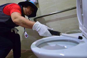 Hàn Quốc 'tuyên chiến' với nạn quay lén phụ nữ trong nhà vệ sinh