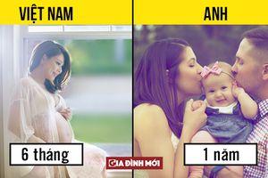 Phụ nữ các nước được hưởng chế độ thai sản khác nhau như thế nào, Croatia quá tuyệt vời
