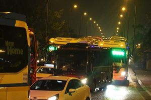 TP.HCM: Bến xe Miền Đông ùn tắc kéo nhiều giờ sau nghỉ lễ
