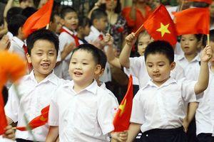 24 triệu học sinh, sinh viên cả nước bước vào năm học mới