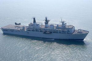 Siêu chiến hạm đổ bộ khổng lồ Anh quốc tới Việt Nam, tín hiệu cho giao lưu hợp tác