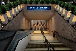 Ga ngầm C9: Phát huy giá trị không gian Hồ Gươm