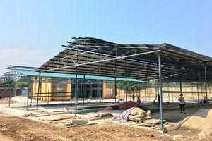 Huyện Sóc Sơn: Đẩy nhanh tiến độ xây dựng chợ tạm