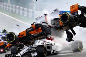 Các sự cố làm thay đổi xe đua F1