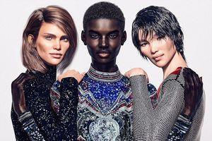 Thương hiệu thời trang Pháp sử dụng người mẫu ảo để quảng bá sản phẩm