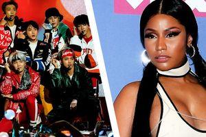 Hợp tác cùng Nicki Minaj, BTS lọt top cao trên BXH Billboard