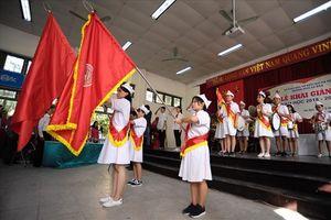 Lễ khai giảng đặc biệt của các em học sinh khiếm thính trường PTCS Xã Đàn
