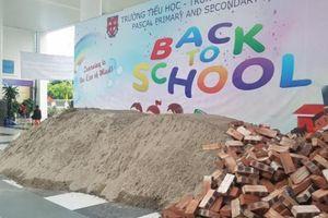 Lãnh đạo quận Bắc Từ Liêm nói về vụ đổ cát sân trường Pascal