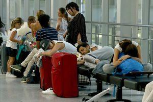 Dừng nhiều chuyến bay đi/đến Osaka do bão Jebi