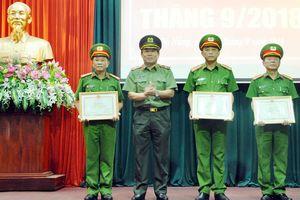 Khen thưởng các tập thể, cá nhân CATP có thành tích xuất sắc