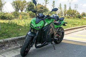 Xe máy điện Trung Quốc 'nhái' trắng trợn Kawasaki Z1000