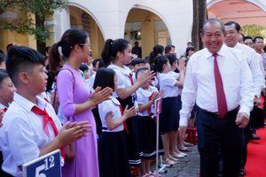 Đà Nẵng: Phó Thủ tướng thường trực Trương Hòa Bình dự khai giảng tại trường TH Phù Đổng
