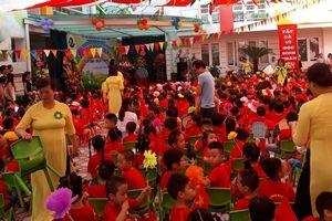 Trường mầm non Sơn Ca long trọng tổ chức khai giảng năm học mới